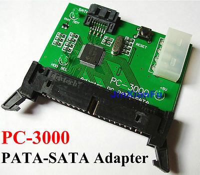 PC-3000 SATA to IDE PATA adapter card HDD Repair Data Recovery assistant