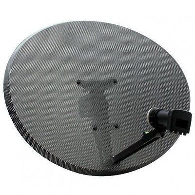BUYME Zone 1 Sky or Freesat Dish With Quad LNB