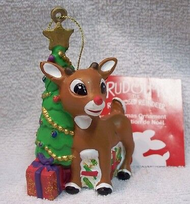 Rudolph With Christmas Tree Ornament