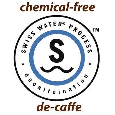 NEW Fresh Roasted ESE Swiss Water Decaf Coffee Pods - Box of 50 chemical free