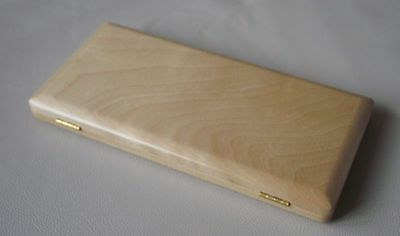 Beautiful Wooden Bassoon reeds case hold 10 pcs reeds Strong
