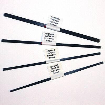CARBON POLE FLOAT STEMS (15s - 30s X 200mm ) (POLE FLOAT MAKING) (FLOAT MAKING)
