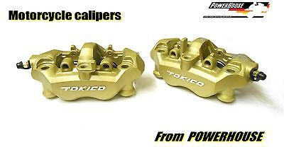 Tokico radial brake calipers Kawasaki ZX6 ZX10 ZX12 ZX-6R ZX-10R ZX-12R exchange