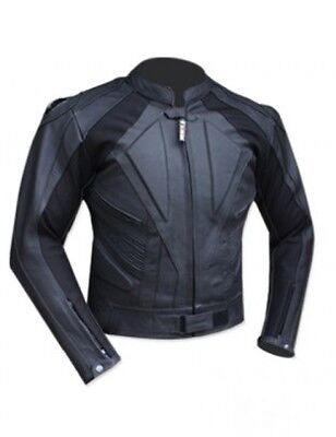 New Motorcycle Vector CE Armoured A Grade Leather Jacket LIMITED STOCK CLEARANCE