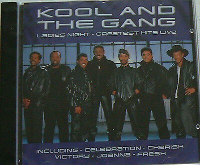 Ladies Night (Greatest Hits Live) - Kool And The Gang (Cd)  Best Of Neuf Scelle