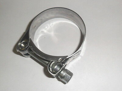 STAINLESS EXHAUST CLAMP 51mm  50mm 49mm  48mm 47mm for Pipes and Silencers