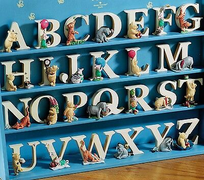 Winnie The Pooh Tigger Piglet Eeyore Alphabet Character Letters Letter Figures