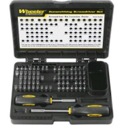 NEW Ultimate Screwdriver Gun Tool Set.Clean Firearms.Rifle Maintenance Bit Kit.
