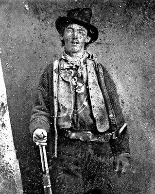"""New 8x10 Photo: William H. Bonney (McCarty), Frontier Outlaw """"Billy the Kid"""""""