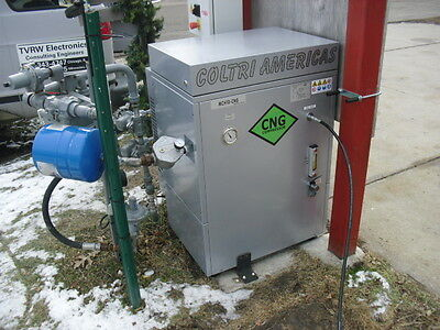 COLTRI AMERICAS CNG REFUELING COMPRESSOR NEW DEMO MCH10 3 Phase 230 Volts