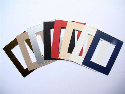 100 x Quality Picture Mounts to fit ACEO or Picture Art Miniature Paintings