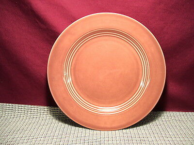Homer Laughlin China Harlequin Rose Color Pattern Luncheon Plate