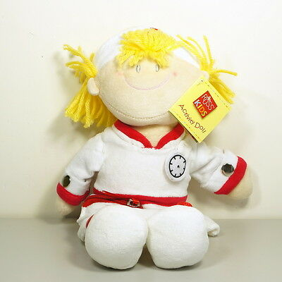 "Russ Berrie Activity Doll Nurse Plush 12"" 31cm"