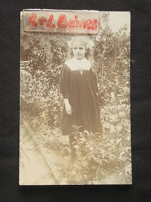Portrait of Young Girl Postcard