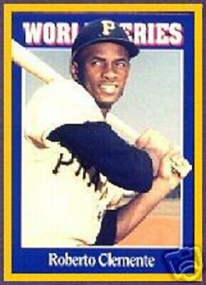 1992 Sports Cards Roberto Clemente - NEAR MINT- Pittsbrgh Pirates - Hall of Fame