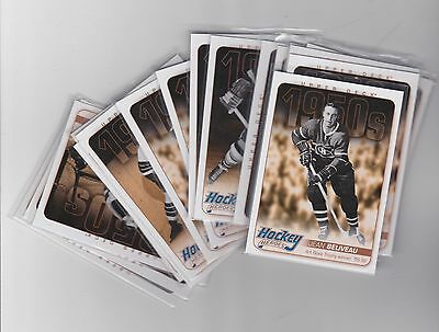 11-12 2011-12 Upper Deck Hockey Heroes Finish Your Set Low Shipping Rate