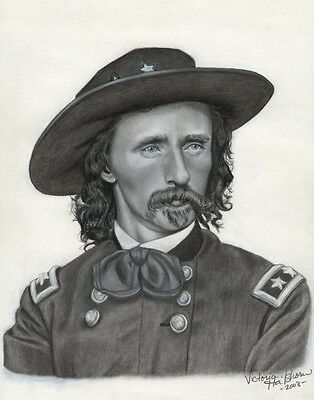Union General George Armstrong Custer LE Signed/Numbered Civil War Art Print