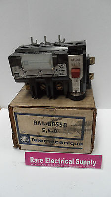 New Telemecanique Overload Relay Ra1-Bb558 5,5-8 Ra1Bb558