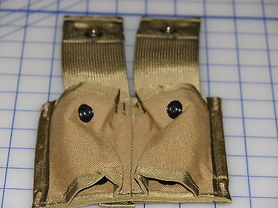 US military MOLLE 40MM pouch double coyote desert USMC grunt NEW GI army issue