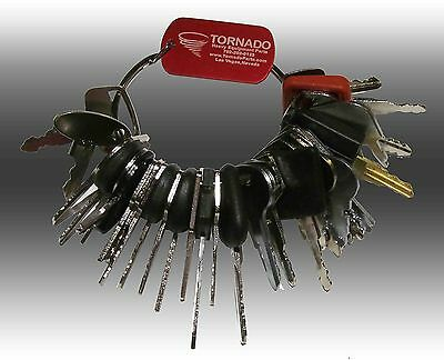 33 Keys Heavy Equipment / Construction Ignition Key Set