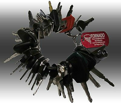 42 Keys Heavy Equipment / Construction Ignition Key Set