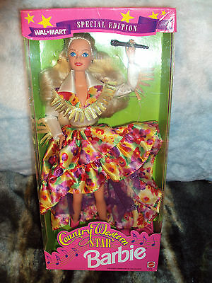 1994 Country Western Star Barbie New in Box