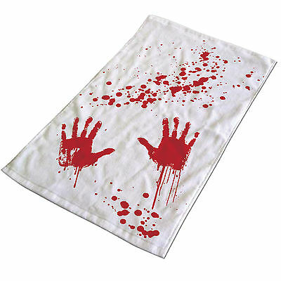 Blood Bath Hand Towel Horror Scary Film Novelty Party Gift
