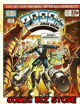 2000 Ad Weekly Prog #395 (1984) Judge Dredd Free Uk P&p