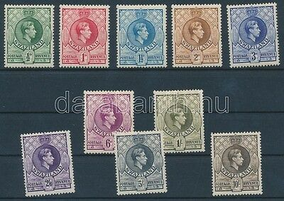 Swaziland stamp 1938/1954 Definitive stamps Hinged 1938 WS113010
