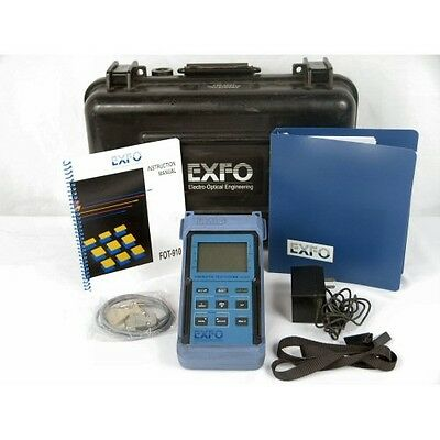 EXFO Electro-Optical Engineering Fiber Optic Loss Test Set FOT-910