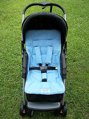 *BABY BOY BLUE*universal stroller,pram,car seat liner set *NEW*