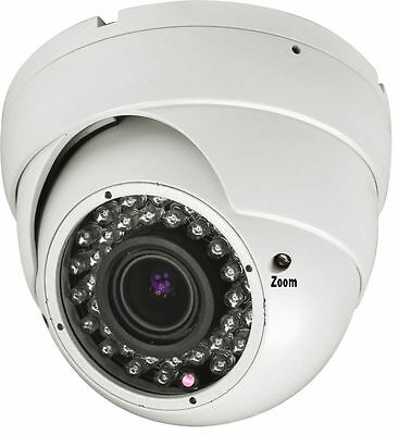 Amview 1800TVL 36IR LEDs Angle View 100ft CCTV haji In//Outdoor Security Camera