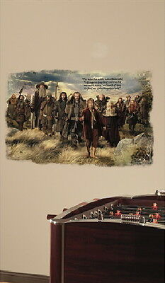 The Hobbit: An Unexpected Journey Mural Peel and Stick Giant Wall Decal SEALED
