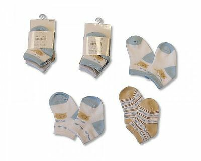 Baby Turn Over Socks Boys 'I Love Daddy' - 2 pairs - 2105