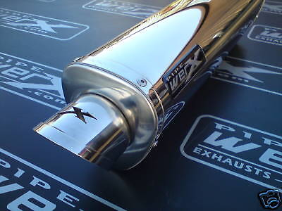 Triumph Tiger 800 & XC 2011 2012 2013 Stainless Tri Oval Road Legal Exhaust Can