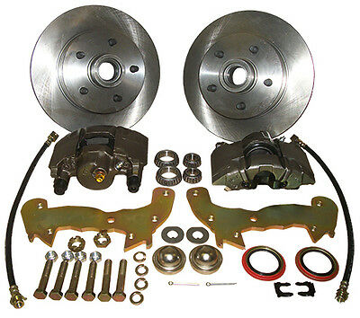 1957-60 58 59 60 Caddy Cadillac Front Disc Brake Conversion Kit - SUPER SALE!!!!