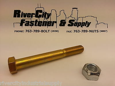 9/16-12x4-1/2 Chevy / GM and Dodge and Ford Truck Leaf Spring Eye Bolt & lockNut