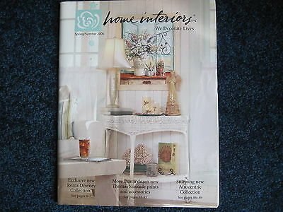 Home Interiors & Gifts Spring/Summer 2006 Catalog Brochure Decorating Book decor