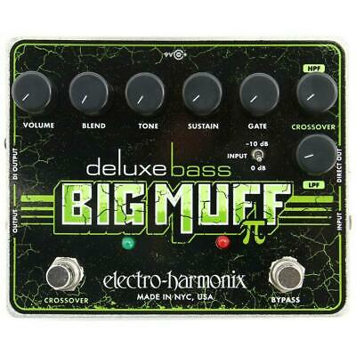 New! Electro-Harmonix Deluxe Bass Big Muff Pi Fuzz Distortion Effects Pedal EHX