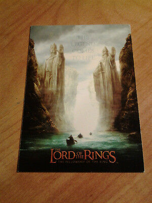 Lord of the Rings Fellowship LOTR FOTR  # 1 Trading Cards