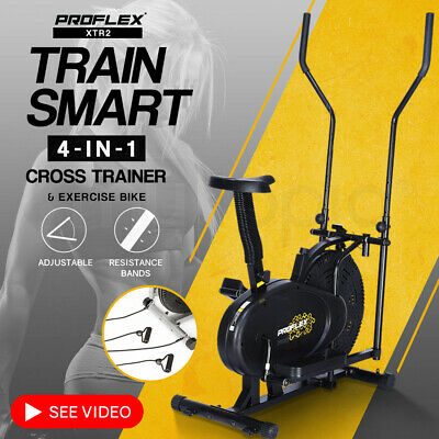 HPF 4in1 Elliptical Cross Trainer Exercise Bike Bicycle Equipment Home Gym XTR2