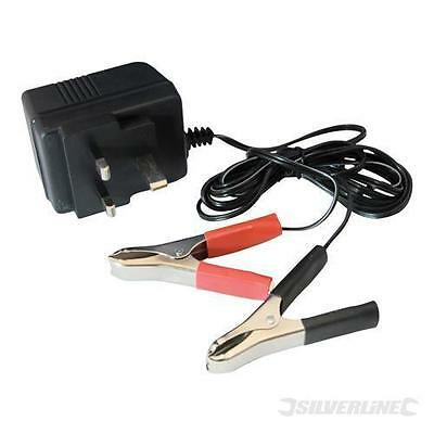 12V Trickle Battery Charger Car Motorcycle Boat Caravan (634004)