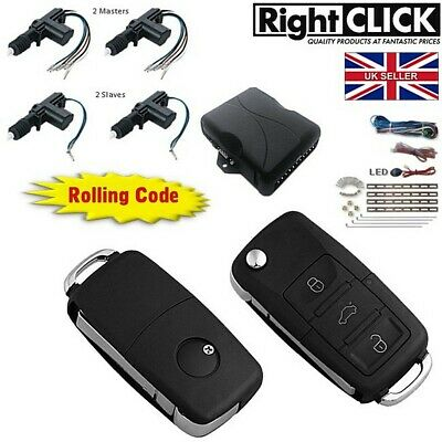 "4 Door Central Locking Kit Remote Keyless ""High Spec"""