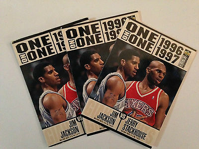 Lot 3 Cartes De Basket Nba Upper Deck Collector's Choice One On One 1996 1997