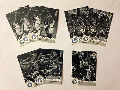Lot 9 Cartes De Basket Nba Upper Deck Collector's Choice 1995-96 Photo Gallery