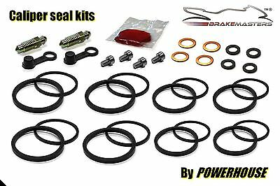 Suzuki RGV 250 VJ21 front brake caliper seal repair rebuild kit J K L 1989 1990