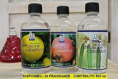 fragranza,essenza, ricarica per diffusore catalitico, 500 ml