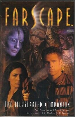 Farscape TV Series Season 1 Illustrated Companion Trade Book 2000 NEW UNREAD