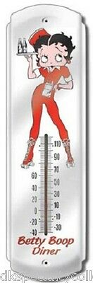 Betty Boop Diner Thermometer