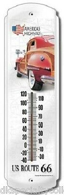 Route 66 - Woody Thermometer